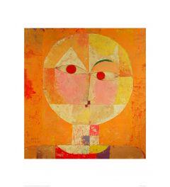 Klee Senecio Kunstdrucke 60x80cm