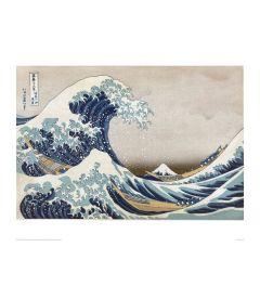 Hokusai Great Wave Kunstdrucke 60x80cm