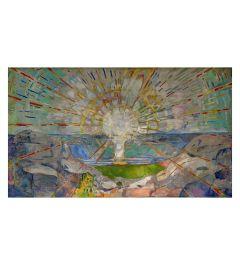 Munch The Sun Kunstdrucke 60x80cm
