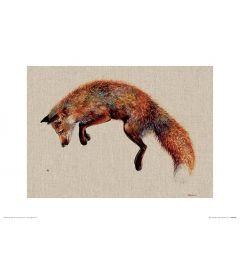 Felix und die Biene Art Print Jane Bannon 30x40cm