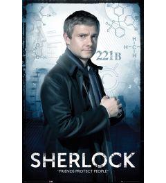 Sherlock Watson Poster 61x91.5cm