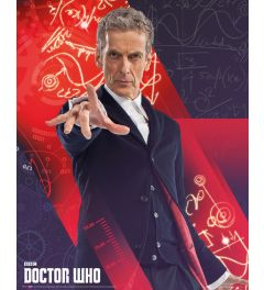 Doctor Who Capaldi Poster 40x50cm