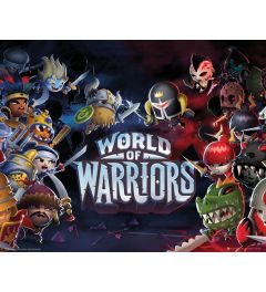 World Of Warriors Poster 50x40cm