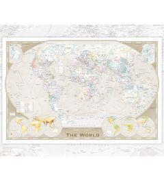 Wereldkaart - Englisch