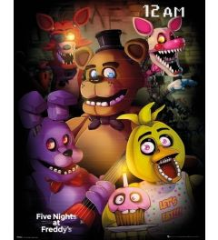 Five Nights At Freddy's Poster Group 40x50cm