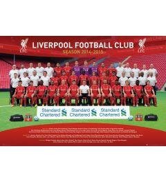 Liverpool - Mannschaftsfoto 14/15