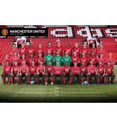 Manchester United Spieler 18-19 Poster 61x91.5cm