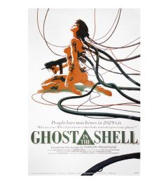 Ghost In The Shell Girl Machine Poster 56x86cm