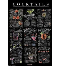 Lily & Val Cocktails Poster 61x91.5cm