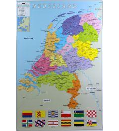 Kaart Nederland *TOP~POSTER*
