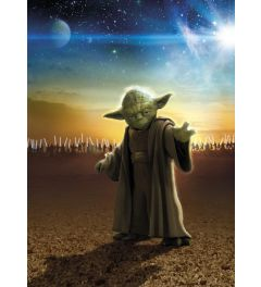 Star Wars Master Yoda 4-delig Fotobehang 184x254cm