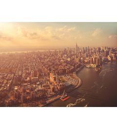 Manhattan 4-delig Fotobehang 254x184cm