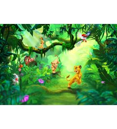 Lion King Jungle 8-delig Fotobehang 368x254cm