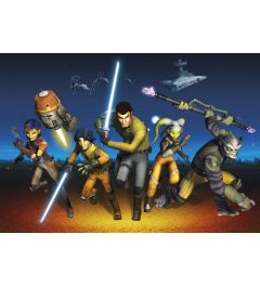Star Wars Rebels Run 8-delig Fotobehang 368x254cm