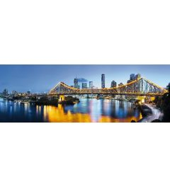 Brisbane 2-delig Vlies Fotobehang 368x124cm