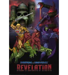 Masters Of The Universe Revelation Good VS Evil Poster 61x91.5cm