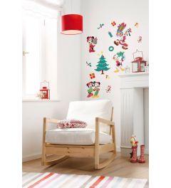 Mickey Weihnachtsgeschenke Wandtattoo set