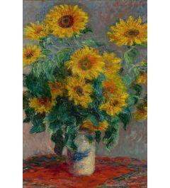 Monet Bouquet of bouquet of sunflowers Poster 61x91.5cm