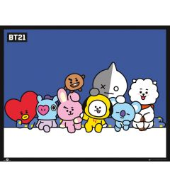 BT21 Group Poster 40x50cm