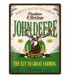 John Deere Tradition & Heritage Blechschilder 30x40cm