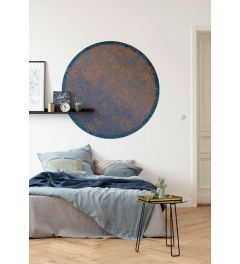 Ornament Selbstklebende runde Tapete ⌀125cm