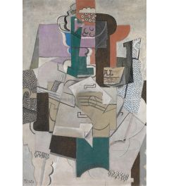 Picasso Fruit Dish Bottle and Violin Poster 61x91.5cm