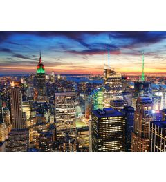 New York in de Schemering