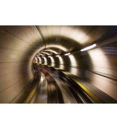 U-Bahn-Tunnel 7-teilig Fototapete 350x260cm