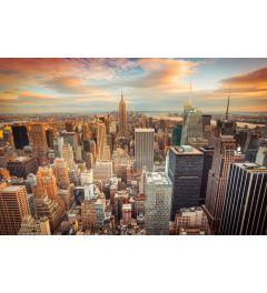 Manhattan Stadtmitte 7-teilige Fototapete 350x260cm