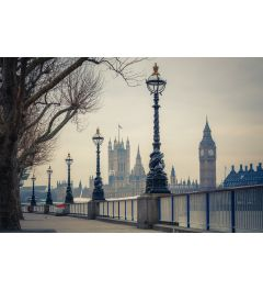 London Big Ben und House of Parliaments 7-teilige Fototapete 350x260cm