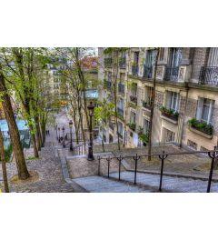 Paris Montmartre 7-teilige Fototapete 350x260cm