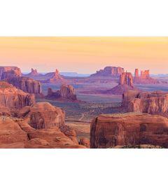 Hunts Mesa Sonnenaufgang 7-teilige Fototapete 350x260cm
