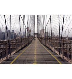 New York Brooklyn Bridge 7-teilige Fototapete 350x260cm
