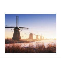 Windmills At Kinderdijk Art print