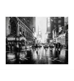 Times Square B&W Art Print