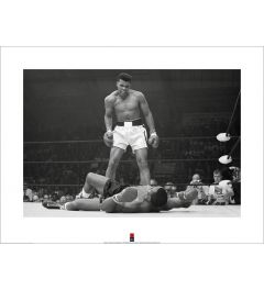 Muhammad Ali vs Liston Art Print 60x80cm