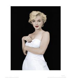 Marilyn Monroe Pose Art Print 40x50cm