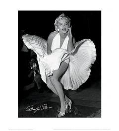 Marilyn Monroe Seven Year Itch Art Print 40x50cm