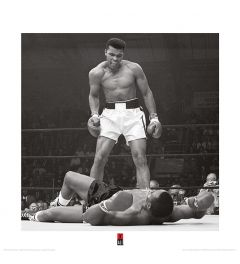 Muhammad Ali vs Liston Art Print 40x40cm