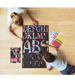 Poppik Alphabet Sticker Poster 60x100cm