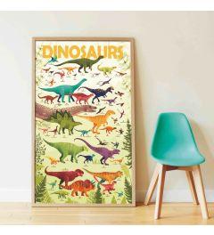 Poppik Dinosaurier Sticker Poster 68x100cm