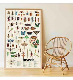 Poppik Insekten Sticker Poster 68x100cm