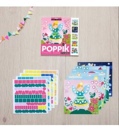Poppik Magic Sticker Karten 15x15cm
