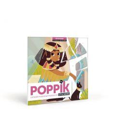 Poppik Prinzessinnen Sticker Karten 18x18cm
