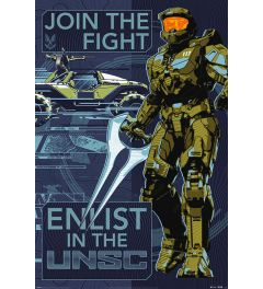 Halo Infinite Join the Fight Poster 61x91.5cm