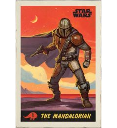 Star Wars The Mandalorian Poster Poster 61x91.5cm