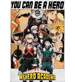 My Hero Academia Be a Hero Poster 61x91.5cm