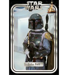 Star Wars Boba Fett Retro Packaging Poster 61x91.5cm
