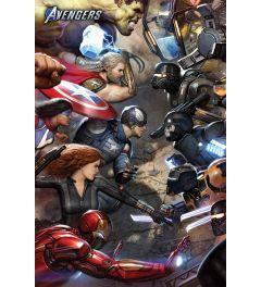 Avengers Gamerverse Face Off Poster 61x91.5cm