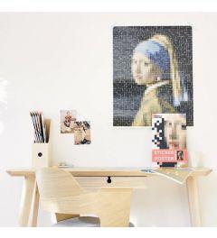 Poppik Vermeer Das Mädchen mit dem Perlenohrgehänge Sticker Poster 48x57cm